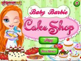 Baby Barbie Cake Shop - Let's Help Baby Barbie in Cake Shop Game