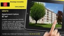 Vente - appartement - Conflans-sainte-honorine - 67m²