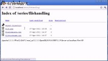 PHP Lecture (86) File Handling Deleting and Renaming Files Part 2_x264