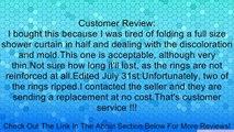 "36.5"" X 72"" Vinyl Shower Liner Review"
