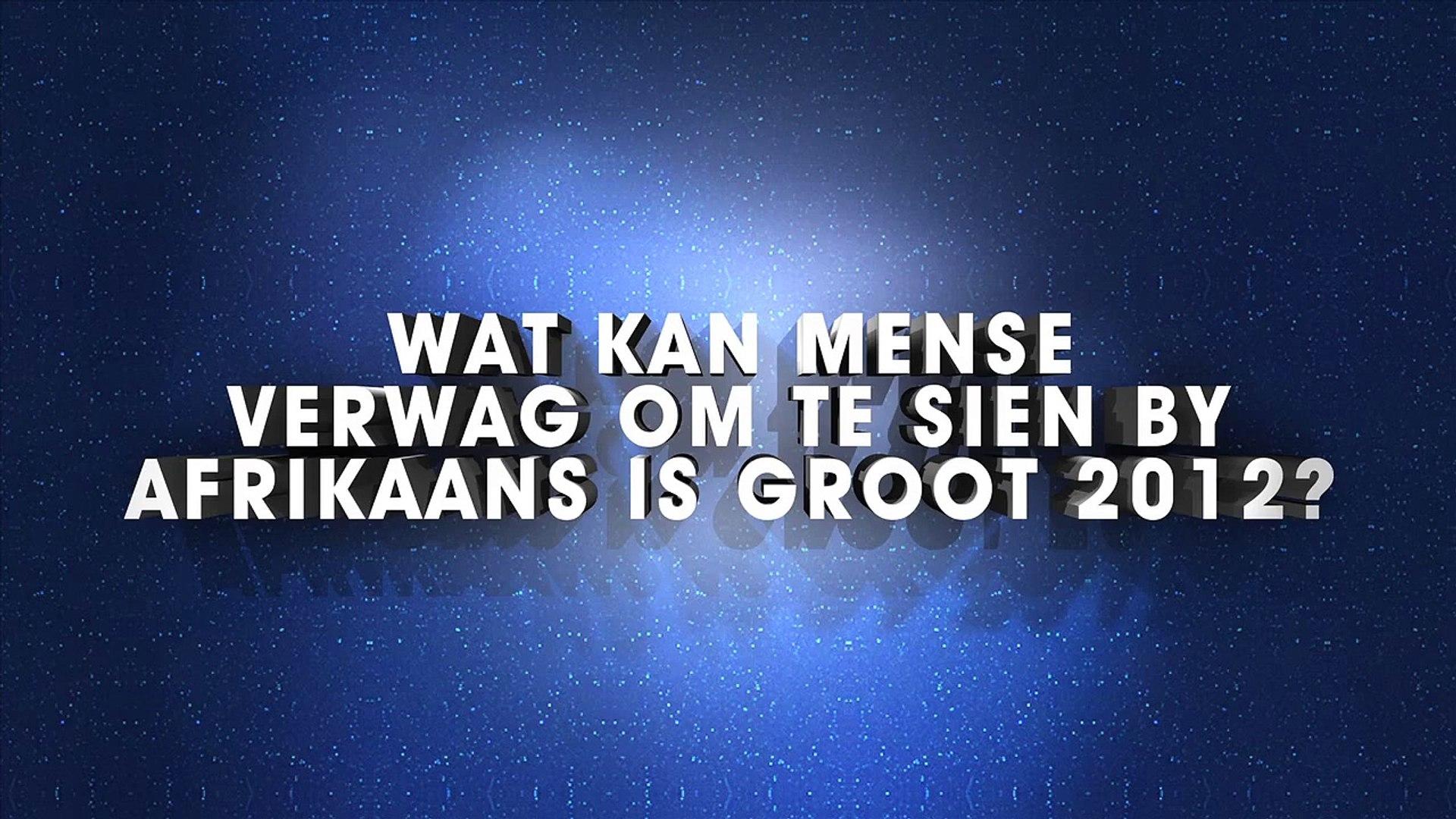 Afrikaans is Groot - Dié Konsert 2012 - Karlien van Jaarsveld EPK