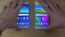 Samsung Galaxy S4 Android 5.0.1 Lollipop vs. Samsung Galaxy A5 Android 4.4.4 KitKat - Opening Apps