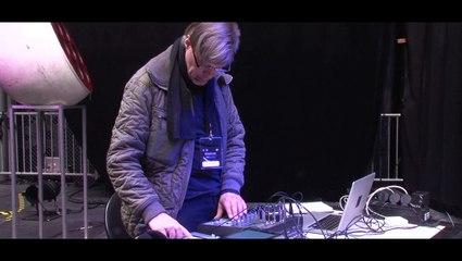 Ilpo Väisänen soundcheck @Présences électronique 2015
