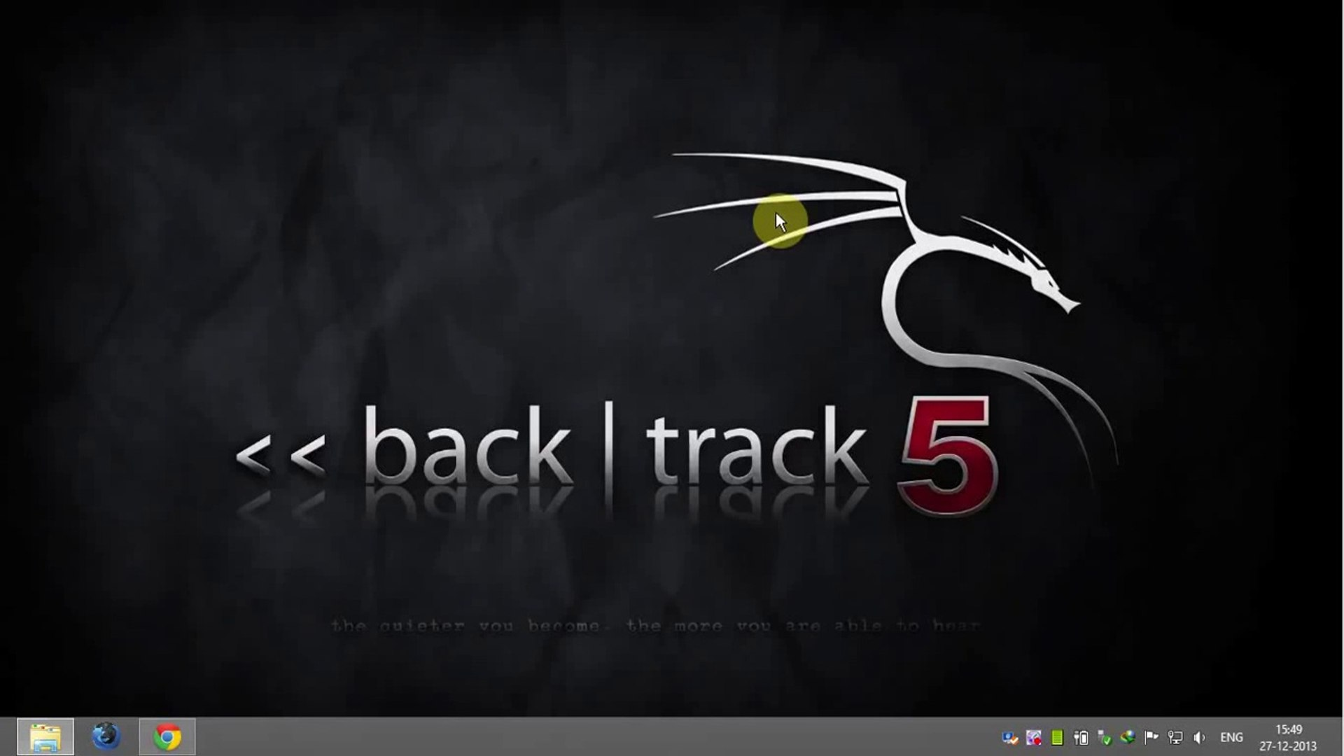 How To Install Backtrack 5 R3 On Windows 7 8 Using Vmware Workstation Hd Narration Video Dailymotion