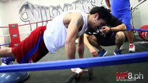 MANNY PACQUIAO - STRENGTH TRAINING - Sports Fitness Boxing Bodybuilidng Muscle Workout