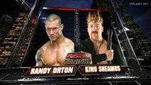 Sheamus vs Randy Orton, WWE Monday Night RAW 14.02.2011