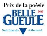 Concours de poésie Belle-Gueule - Dix Heures de Poésie 2015