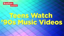 Teens Watch '90s Music Videos For The First Time ( 90s rocked )