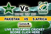 Pakistan vs South Africa Full Match online Highlights 7th March 2015 Pak vs South africa