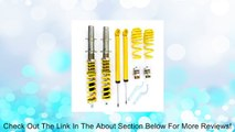 Volkswagen MK4 Golf GTI Jetta New Beetle Yellow RSK Street Coilover Kit Review