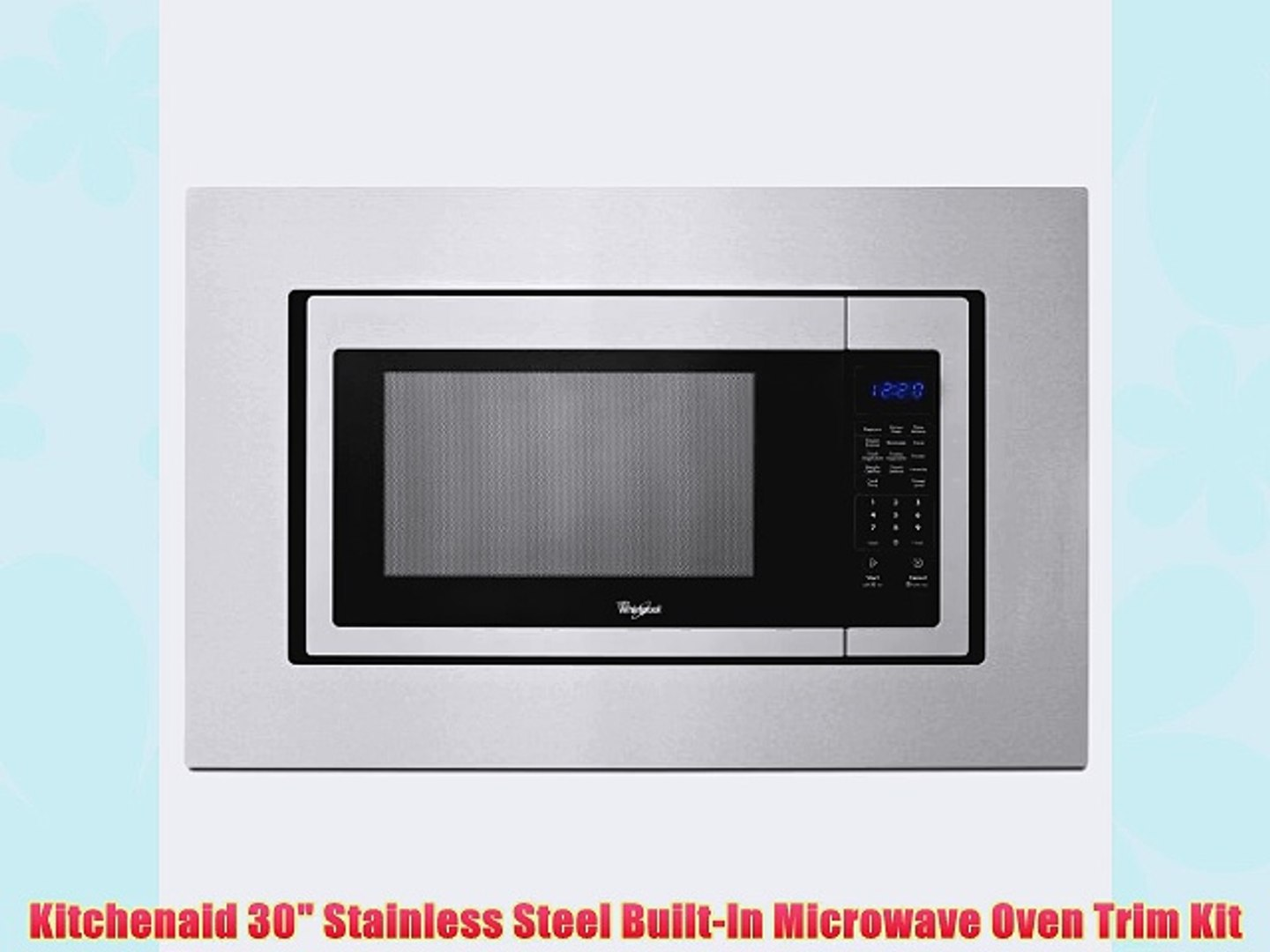 Stainless Steel Built In Microwave Oven