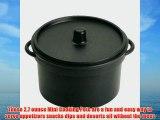 EMI Yoshi EMI-620B Koyal Mini Cooking Pots with Lids 2.7-Ounce Set of 100