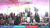 Speech of Brother of Martyrs at Chehlum of martyrs of Shikarpur