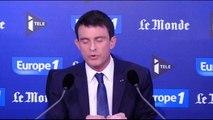"""Valls : avec Hollande, """"nous sommes main dans la main"""""""