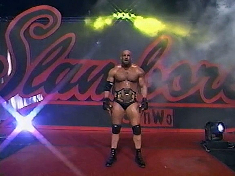 Goldberg vs. Perry Saturn WCW Slamboree 1998 - video Dailymotion
