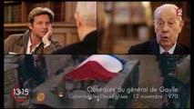 """Charles Pasqua : """"De Gaulle était Clovis, Charlemagne, Jeanne d'Arc... et Napoléon !"""""""