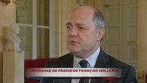 Bruno Le Roux réagit à la conférence de presse de François Hollande