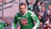 Yohan Mollo 1:0 | Saint Etienne - Lorient 08.03.2015 HD