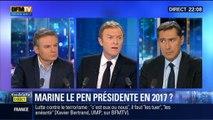 Laurent Neumann face à Eric Brunet: Manuel Valls a-t-il raison de dire que Marine Le Pen peut gagner en 2017 ?
