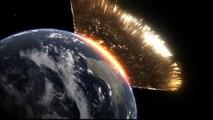 Simulation impact astéroide sur Terre