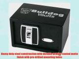 Bulldog Cases Vaults Digital Pistol Vault with Biometric (Fingerprint) Lock 7.25 x 11 x 8-Inch