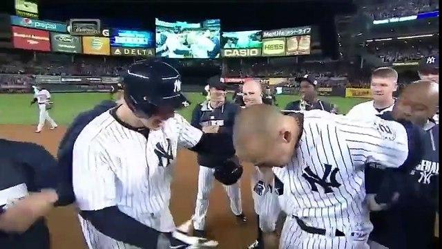 Último turno al bat de Derek Jeter en Yankee Stadium