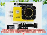 QUMOX WIFI Actioncam SJ4000 Action Sport Kamera Camera Waterproof Full HD 1080p Video Helmkamera