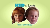 """Kid Snippets: """"Pest Control"""" (Imagined by Kids)"""