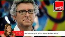 """M. Onfray : Hollande """"est plus intéressé par Marion Cotillard que par les intellectuels"""""""