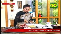 Tarka Recipes With Rida Aftab Cooking Show On Masala TV 4 March 2015