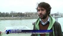 Nucléaire: Greenpeace rappelle son engagement à Hollande