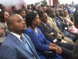 Rencontre du Président Ali Bongo Ondimba avec les syndicats - 1/2