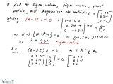 Eigen Values, Eigen Vectors, Model Matrix, Diagonal of the Matrix