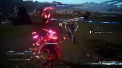 Tutoriel du système de combat de Final Fantasy XV