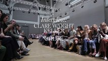 Interview with Chloé Claire Waight Keller at Chloé