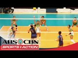 UAAP 77: Women's Volleyball DLSU vs NU Game Highlights