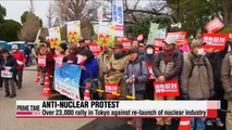 Thousands protest against nuclear power in Tokyo