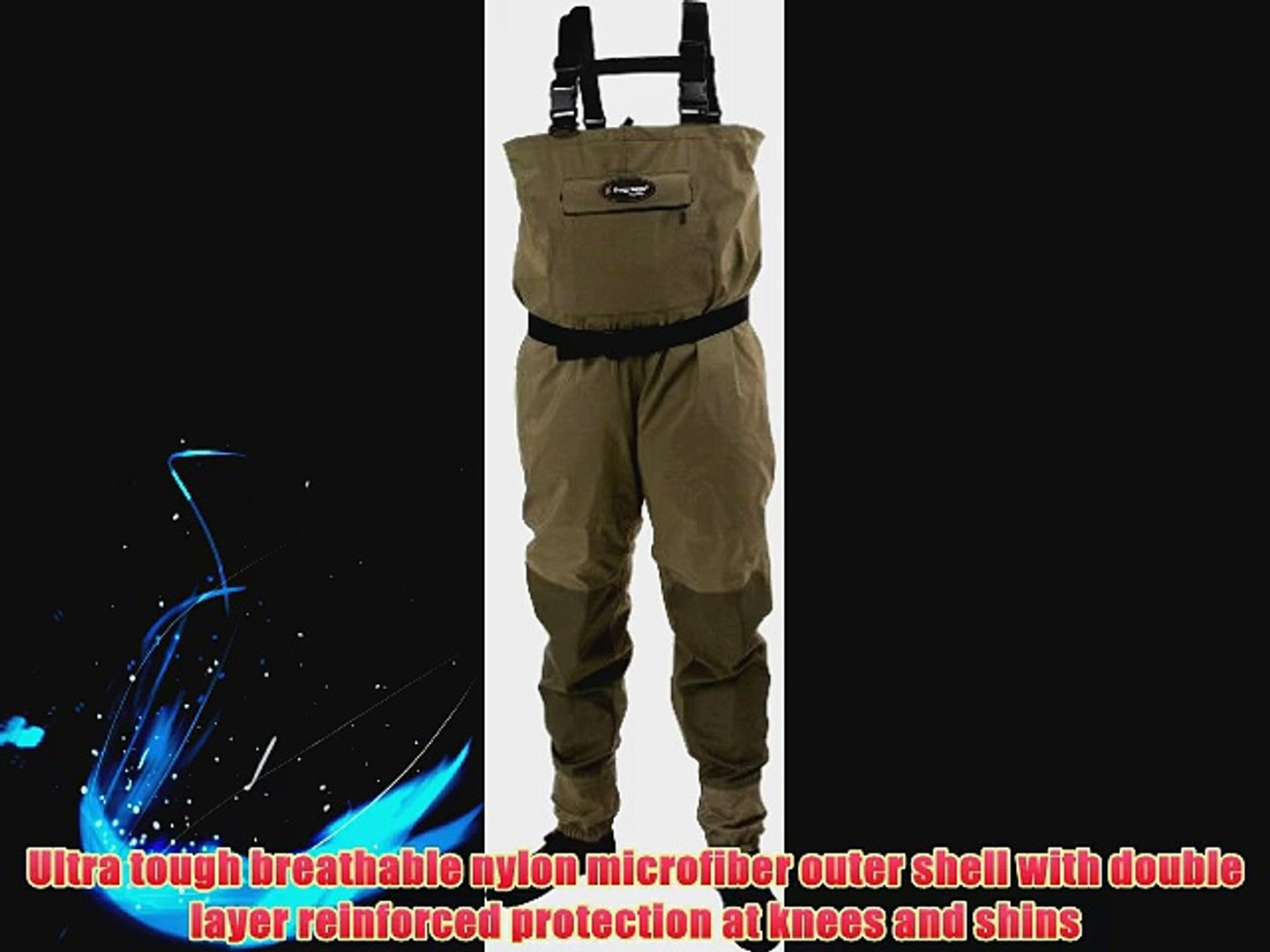 Frogg Toggs Hellbender Stout Stockingfoot Wader Stout XX-Large New Sage