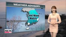 Cold snap to continue on Tuesday