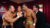 Daniel Bryan, Eve Torres, Alberto Del Rio and Ricardo Rodriguez Backstage Segment