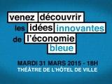 Illustration Venez découvrir les idées innovantes de l'économie bleue