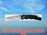 Pro Tech Knives TR4MA2 Part Serrated Model TR-4 Tactical Response 4 Button Lock Knife with