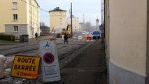 Fuite de gaz, rue du Paty