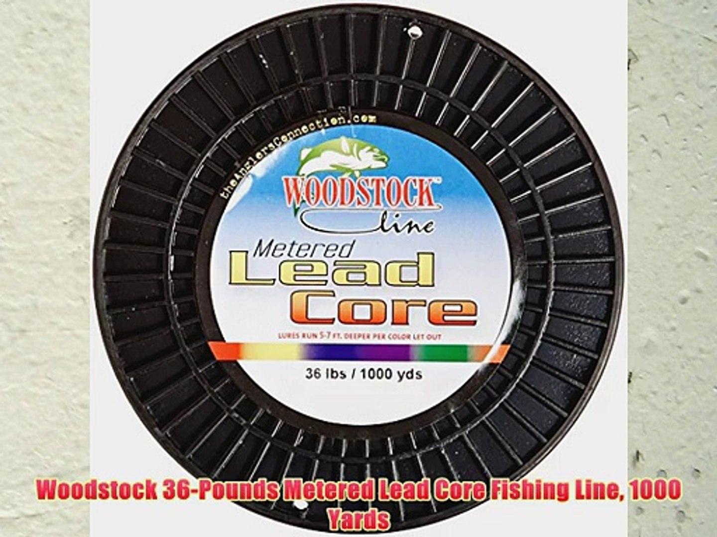 Woodstock 15-Pounds Metered Lead Core Fishing Line