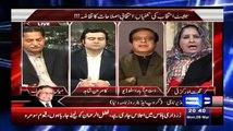 Shibli Faraz Of PTI (Son Of Ahmed Faraz) Vs Nighat Orakzai Of PPP (Political Pro-stitute) In A Live Show