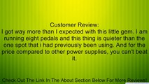CP-05 Guitar Effect Pedals Power Supply 8 Way DC 9V & 1 Way DC 12V & 1 Way 18V US Plug Review