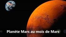 PLANETE MARS AU MOIS DE MARS