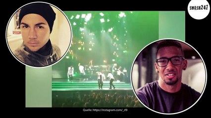 Mario Götze, Jerome Boateng & Co: So feierten sie auf dem Usher-Konzert!