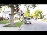 Un nouveau style de rampe pour les pratiquants de BMX