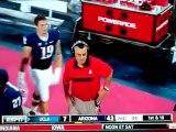 Un bagarre générale éclate lors d'un match de football américain